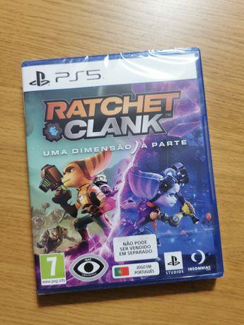 PS5 Ratcher & Clank - Uma dimensão à parte (novo, embalado)