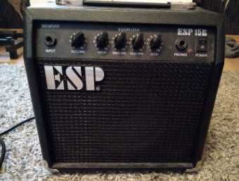 ESP 15B Piec do gitary basowej