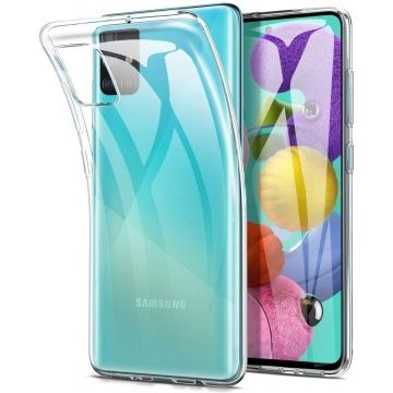 Чехол, чохол на Samsung A71, прозрачный, силикон