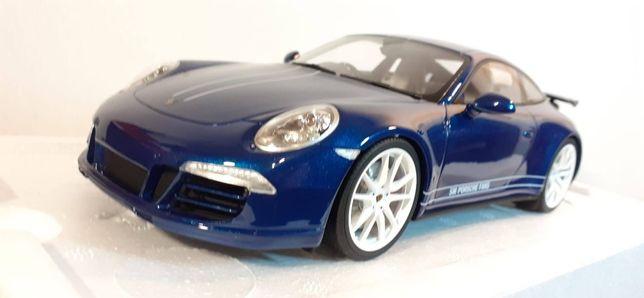 1/18 Porsche 911 (995) Carrera 4S Aqua Blue - GtSpirit