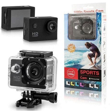Kamera sportowa typu GOPROFull HD 1080p pro wodoodporna