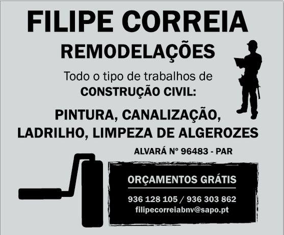 Remodelações Filipe Correia
