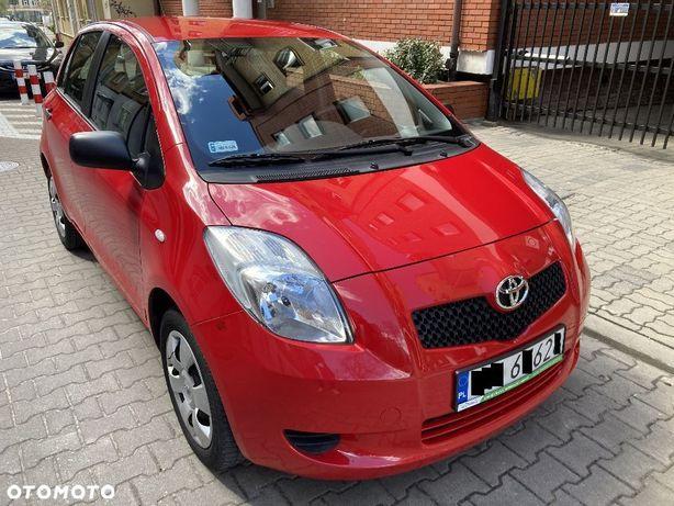 Toyota Yaris 1,3VVTI Po Serwisie w ASO 5cio Drzwiowa Klima Czujniki Parkowania