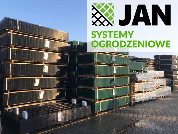 Panele ogrodzeniowe Ogrodzenia Panelowe 4-KOLORY 1530x2500mm 1mb