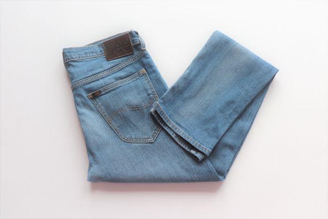 Męskie spodnie jeansy Lee Daren W33 L34 idealny stan jak nowe okazja