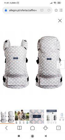 Nosidło ergonomiczne Zaffiro Embrace 6-18kg