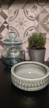 Dodatki dom Misa ceramika Słój szkło recykling