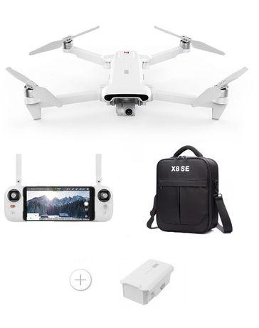 Xiaomi FIMI X8 SE v.2020 Dron kamera 4K + 2 baterie + Torba GPS 8km