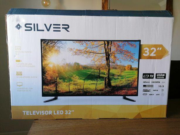 Tv Silver 32' nova