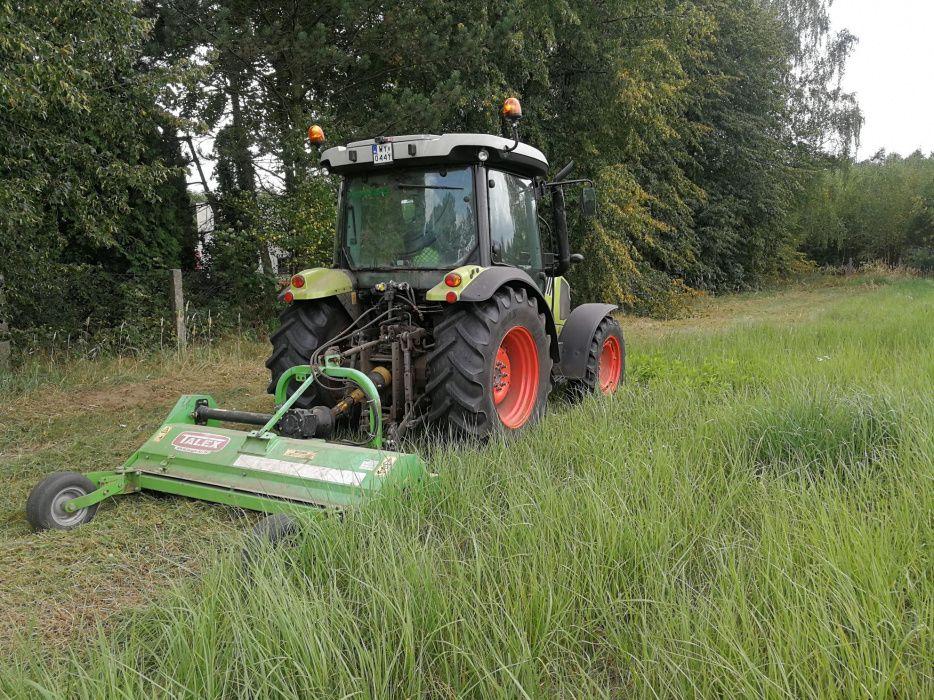 Usługi koszenie traw, nieużytków, kosiarka bijakowa, ŚLĄSK Orzesze - image 1