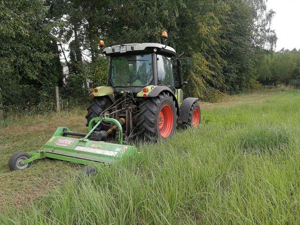 Usługi koszenie traw, nieużytków, kosiarka bijakowa, ŚLĄSK