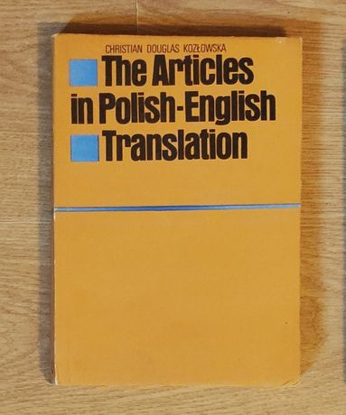 The Articles in Polish English Translation 1988