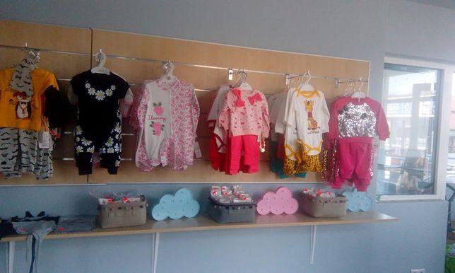 meble do sklepu odzieżowego dziecięcego lada półki sklepowe na ubrania