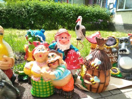 Детский и взрослый уличный декор,статуэтки,фигуры.Гномы. Новые!!!