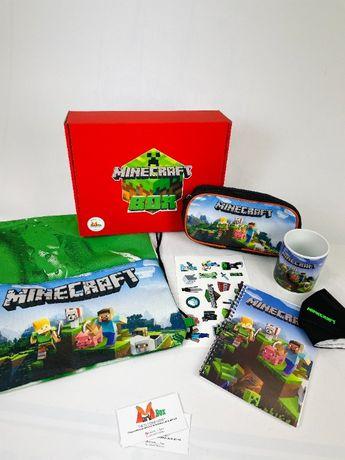 Minecraft Box - Подарочный набор Майнкрафт Бокс - пенал сумка подарок