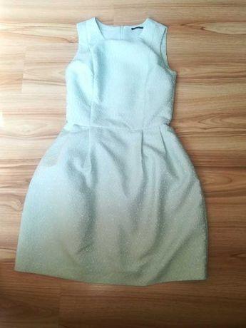Miętowa sukienka mohito