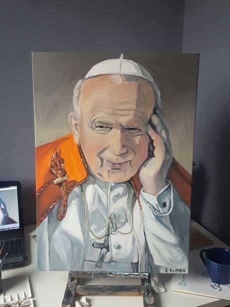Portret Jan Paweł II na prezent