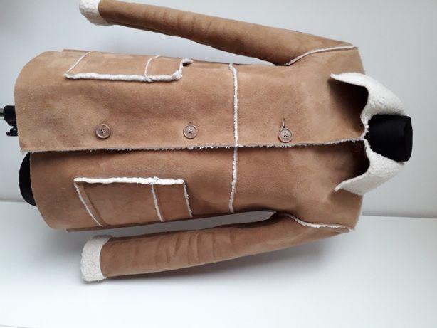 H&M_ ciepły ECO kożuszek_XS