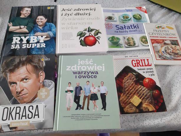 7 książek o tematyce kulinarnej