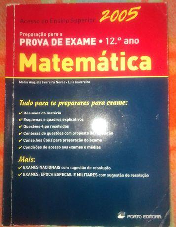 Preparação para exame de matemática 12 ano