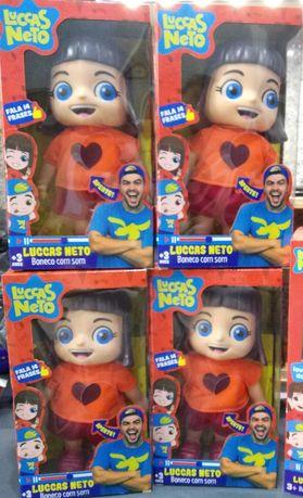 Boneca Gi (Lucas Neto) fala
