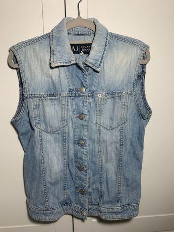 Kamizelka Jeansowa Armani Jeans S