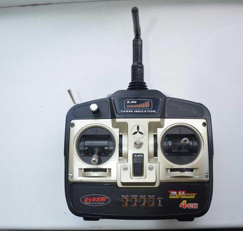 Продам радиоаппаратуру Dynam 2.4Ghz 4 канальная + приемник