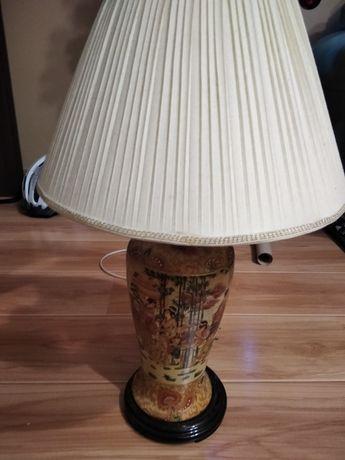 Lampka nocna ręcznie malowana