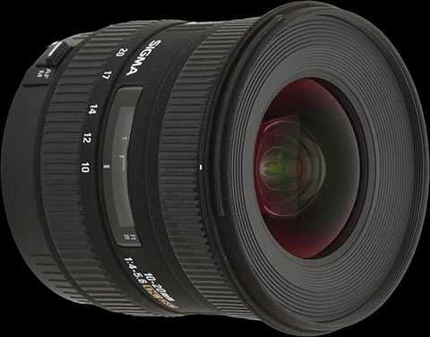 Sigma 10-20mm f/4-5.6 EX DC HSM Canon Fit