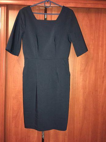 Платье футляр Vero Moda Италия 46 48 темно синее цвет Navy