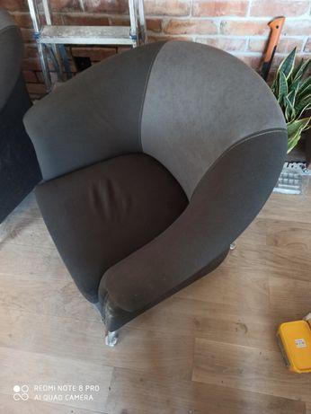 Fotel szary fotel do salonu