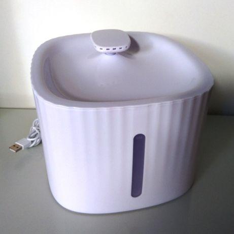Fonte de água automática para animal de estimação, gato, cão