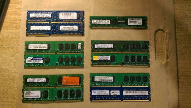 Оперативная память ОЗУ, DDR2, DDR3 1Gb