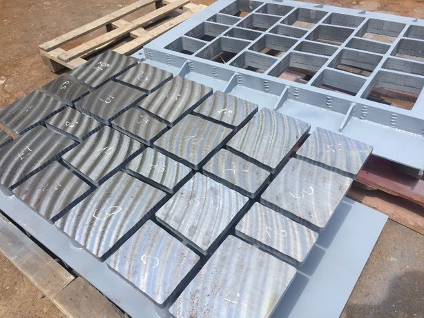 Пресс-формы тротуарной плитки для вибропрессов
