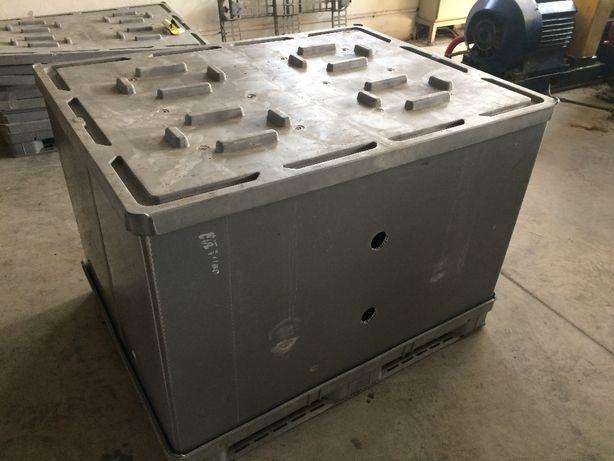 Мощные разборные пластиковые контейнеры 145 см х 113 см (PolyBox)