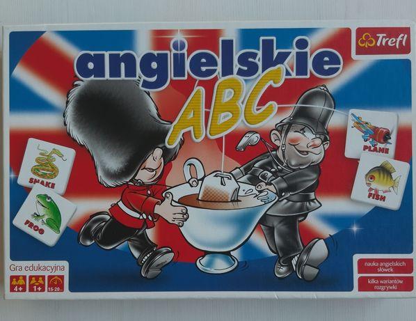 Edukacyjna gra pamięciowa Angielskie ABC
