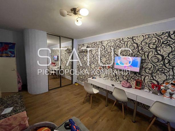 Трехкомнатная квартира, раздельные комнаты