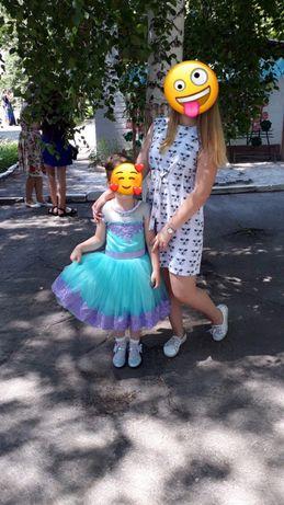 Платье выпускное в детский сад
