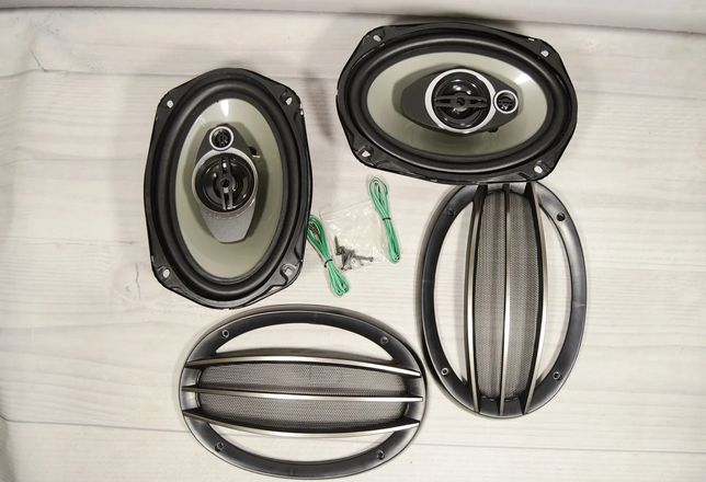 Автомобильные колонки, овалы, динамики SP-6995, 5-ти полосные, 1200W