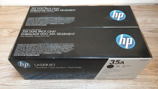 Oryginalny dwupak tonerów CB435A Czarny (HP 35A) HP 35A HP35A