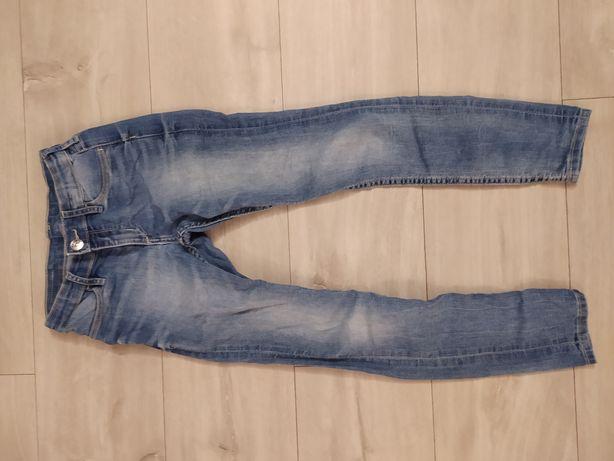 Spodnie dziewczęce skinny fit rozmiar 122 firmy HM