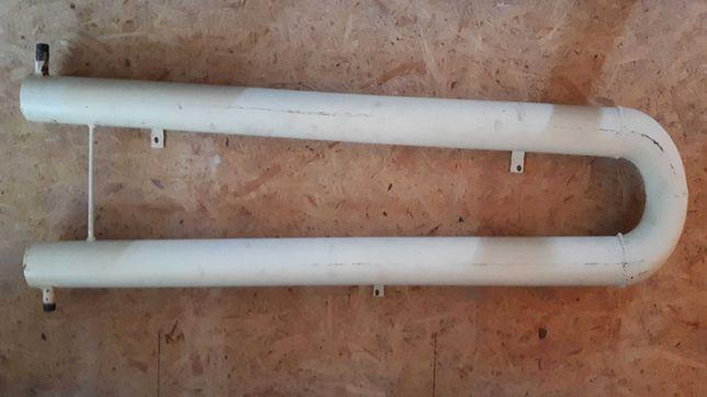 Регистры отопления змеевиковые П-образной формы из стальной трубы.