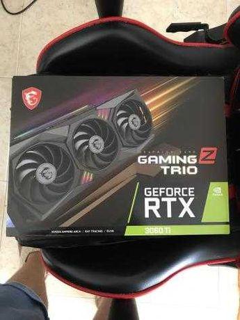Placa Gráfica MSI GeForce RTX 3060 Ti GAMING Z TRIO 8GB  LHR