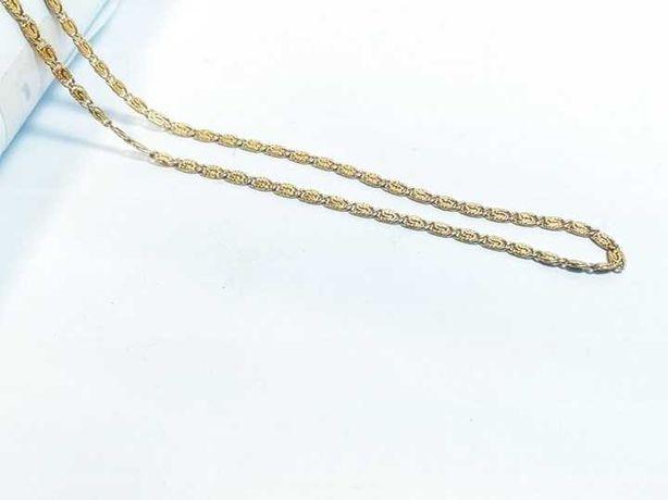 Wyrób jubilerski - złoty łańcuszek 750 6,95g