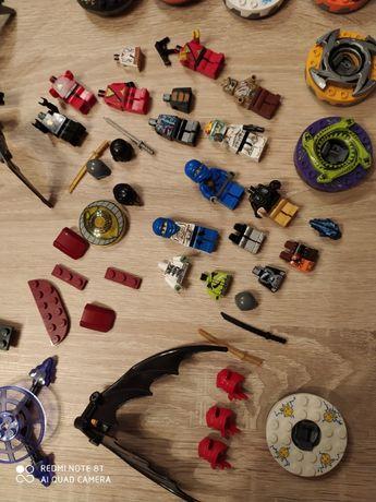 Lego ninjago klocki figurki spinery, pajak, akcesoria