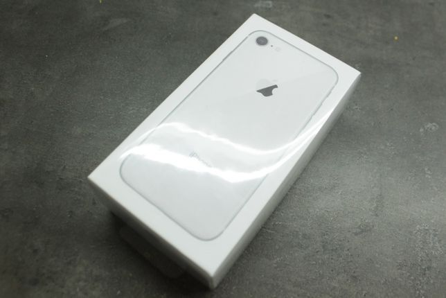 Apple iPhone 8 64gb white/silver NOWY FOLIA w pudełku GRATISY