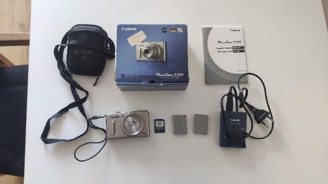 Aparat fotograficzny Canon PowerShot S100