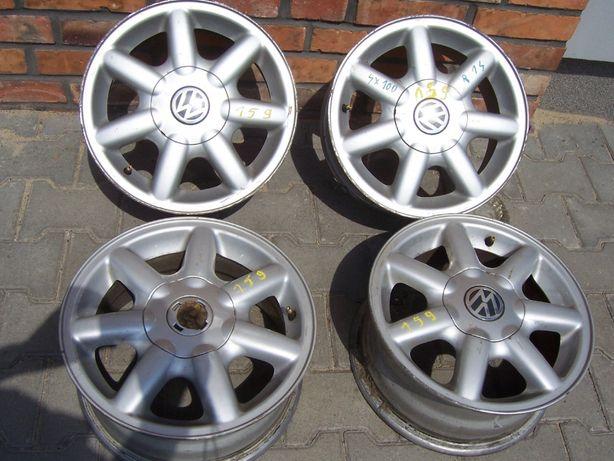 felgi aluminiowe komplet 4x100 6x14H2 ET45 do VW GOLFA POLO Leszno
