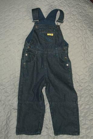 NOWE!!! Jeansowe ogrodniczki LUPILU r. 92