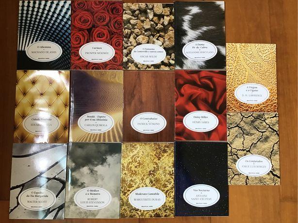 Livros variados da coleção Biblioteca de Verão do Jornal de Notícias